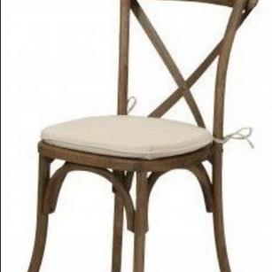 Tuscan X Cross Back Chairs
