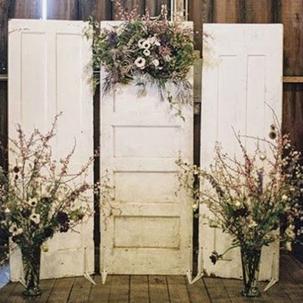 Vintage Door Backdrop RENTAL
