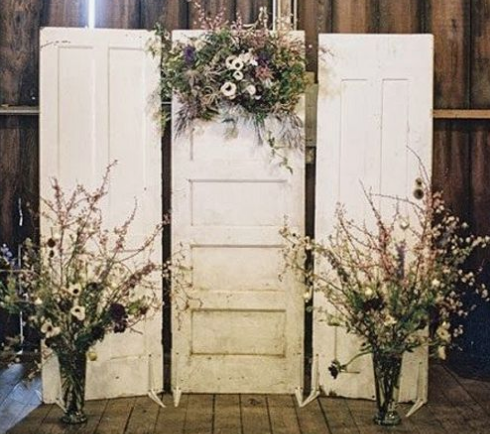 Vintage Door Backdrop RENTAL
