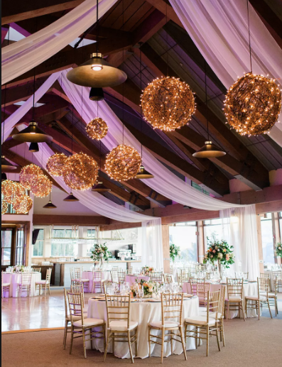 Grapevine Ball Chandeliers