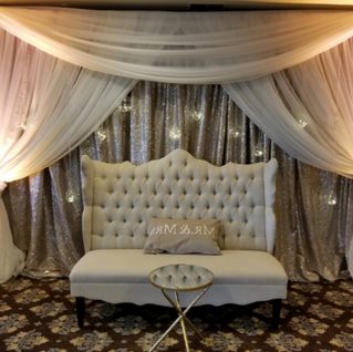 Backdrop and Uplighting Rentals