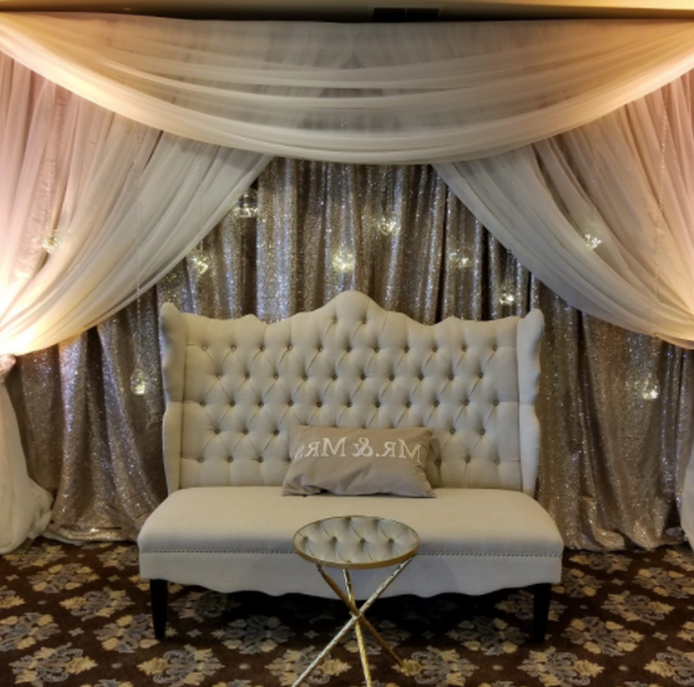 Sweetheart Table Draping