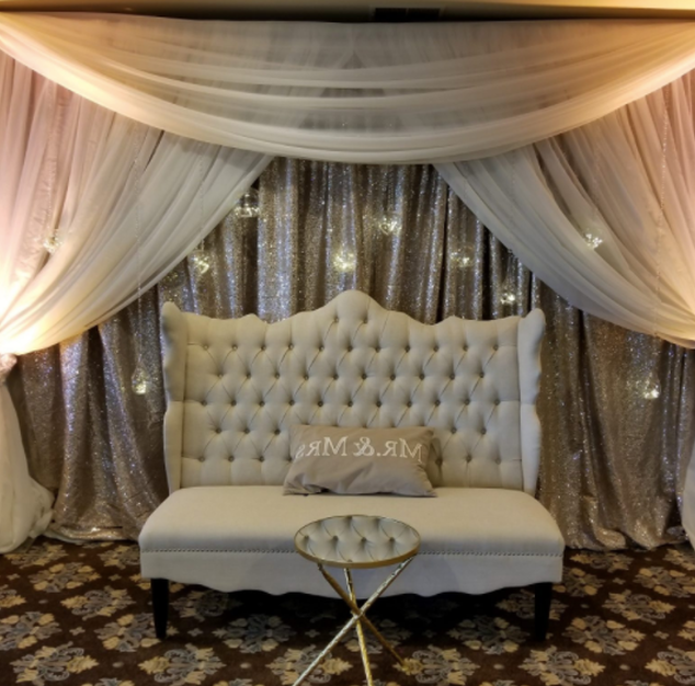 Backdrop and Uplighting Rentals