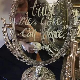 Vintage Style Vanity Mirror