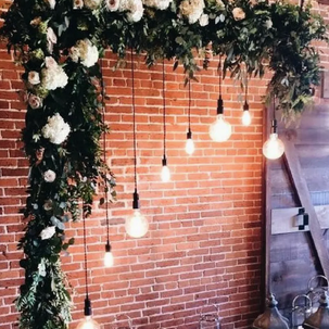 Industrial Style Arch Arbor RENTAL