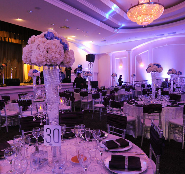 uplights and centerpieces omni hotel providence ri
