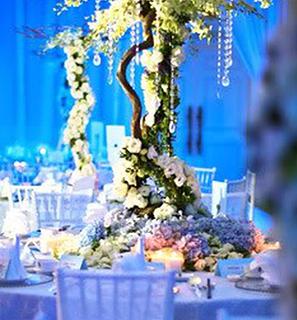 Floral Wish Tree Centerpiece
