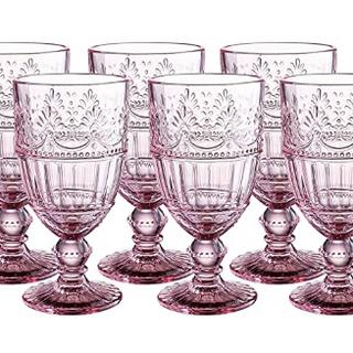 Pink Water Wine Goblet Glassware Rentals