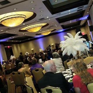 Corporate Event Uplighting