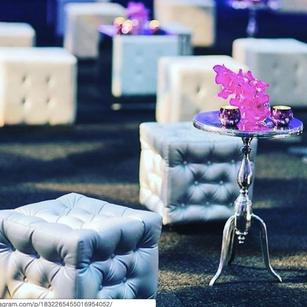 Metal Lounge Side Tables RENTAL