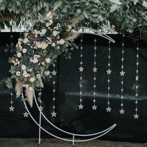 Celestial Crescent Arbor Rental