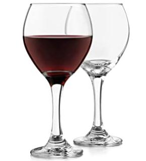 Red Wine Stemmed Glassware Rentals
