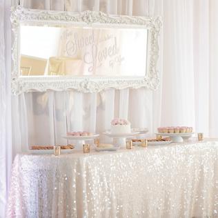 bridal shower display