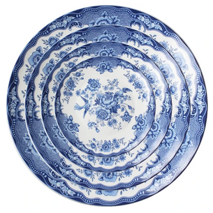 Blue and White China Rental