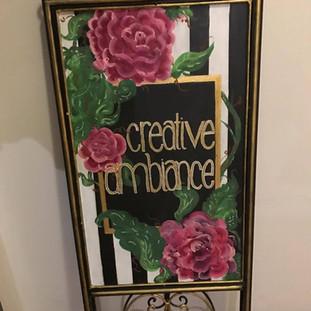Custome Chalkboard Sign