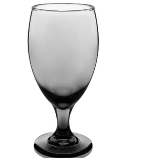 Smoke Colored Water Goblet Rental