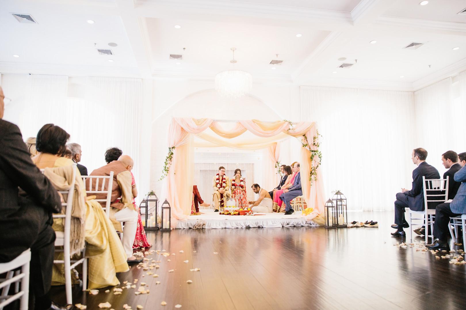 Fusion Wedding Decor Ceremony
