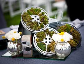 Movie Themed Centerpieces Wedding