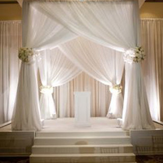 Chuppah Arbor Ceremony & Uplighting Rent