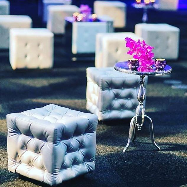 Lounge Furniture Cube Seats RENTAL