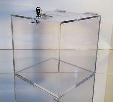 Clear Acrylic Card Box