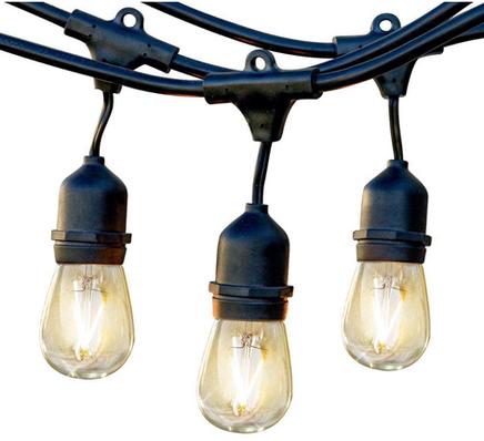 String Light Rental and Installation