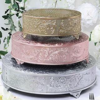 Round Cake Stand Rentals