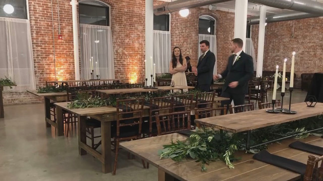 Hope Tables Risers Garlands