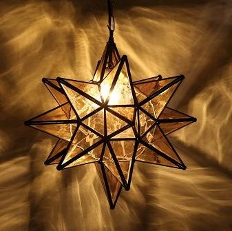 Star Lantern Chandelier