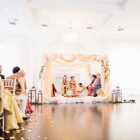 Mandap and Stage