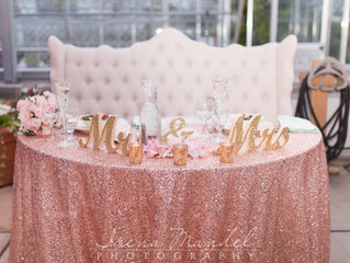 The Latest Trend in Weddings: Sweetheart Tables