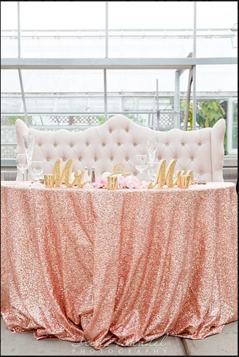 Sweetheart table Cuddle Bench