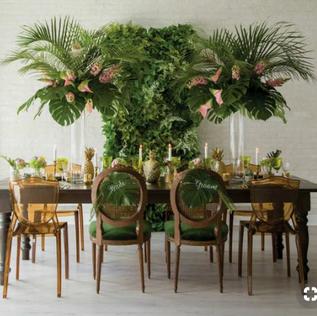 Tropical Greenery Wall