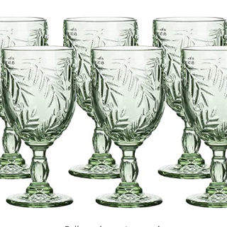 Sage Green Water Wine Goblet Rentals