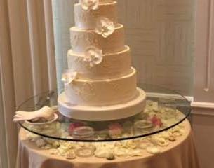 Cake Glass Pedestal Riser