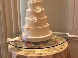 Cake Glass Pedestal Riser Rental