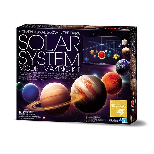 Sistema Solare da appendere - costruzione
