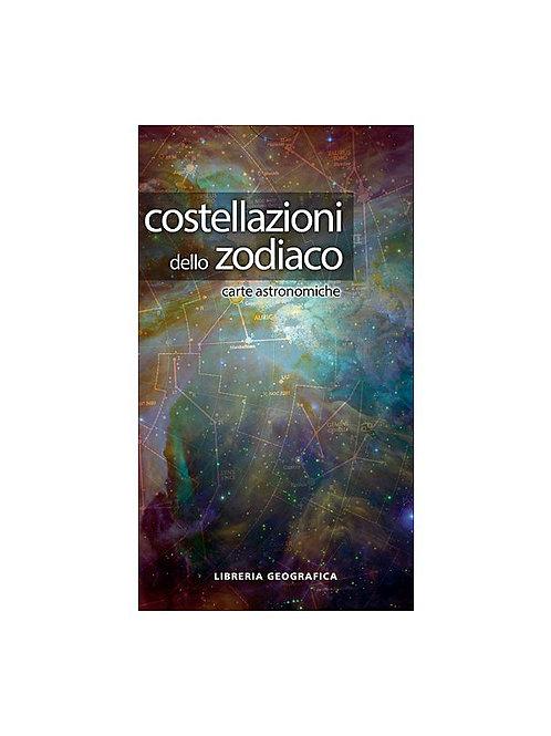 Costellazioni dello zodiaco - carta astronomica