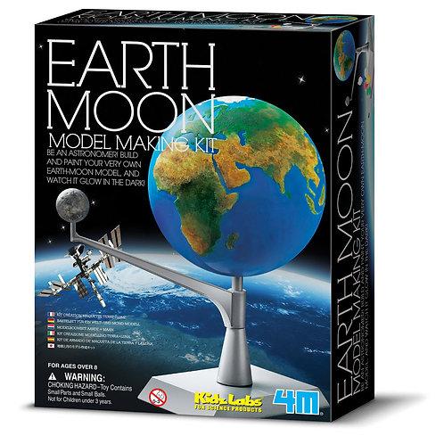 Sistema Terra-Luna - costruzione