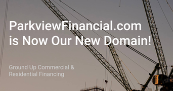 Announcement: ParkviewFinancial.com Is Our New Domain, As Of Today