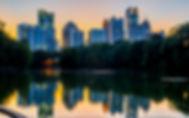 Atlanta Skyline Piedmont Park Explore At