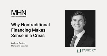 Why Nontraditional Financing Makes Sense in a Crisis