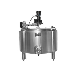 Anco 100 Gal Pasteurizing Cheese Vat