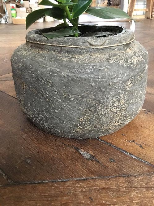 Bloempot Candy Bowl M grey
