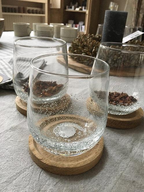 Glas Tumbler bubbel