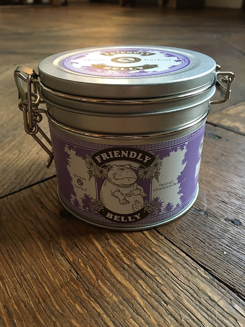 Friendly Belly herbal tin
