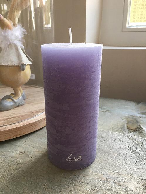 Kaars Violet cilinder M