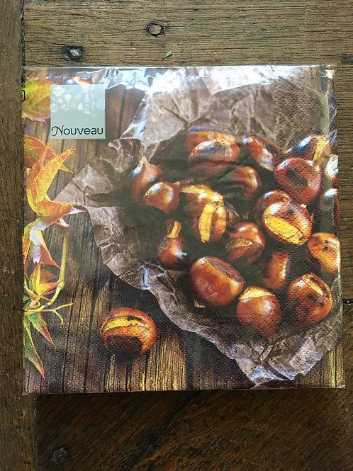 Servet chestnut