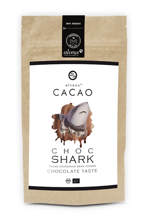 Choc Shark BIO Cacao without caffeine Bag 125g