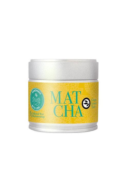 Matcha Ginger Lemon